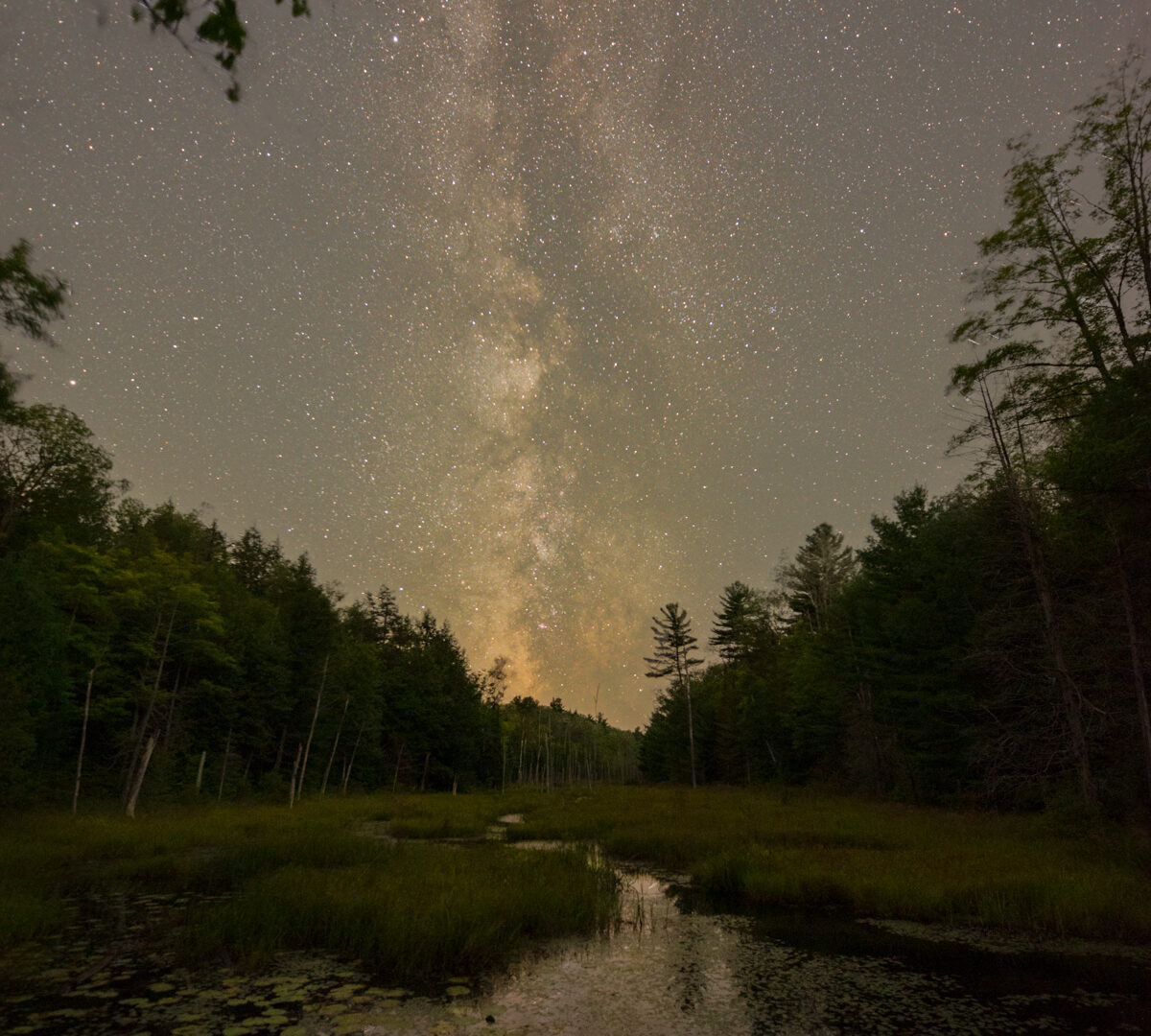 Milky Way and the Rose Point Trail